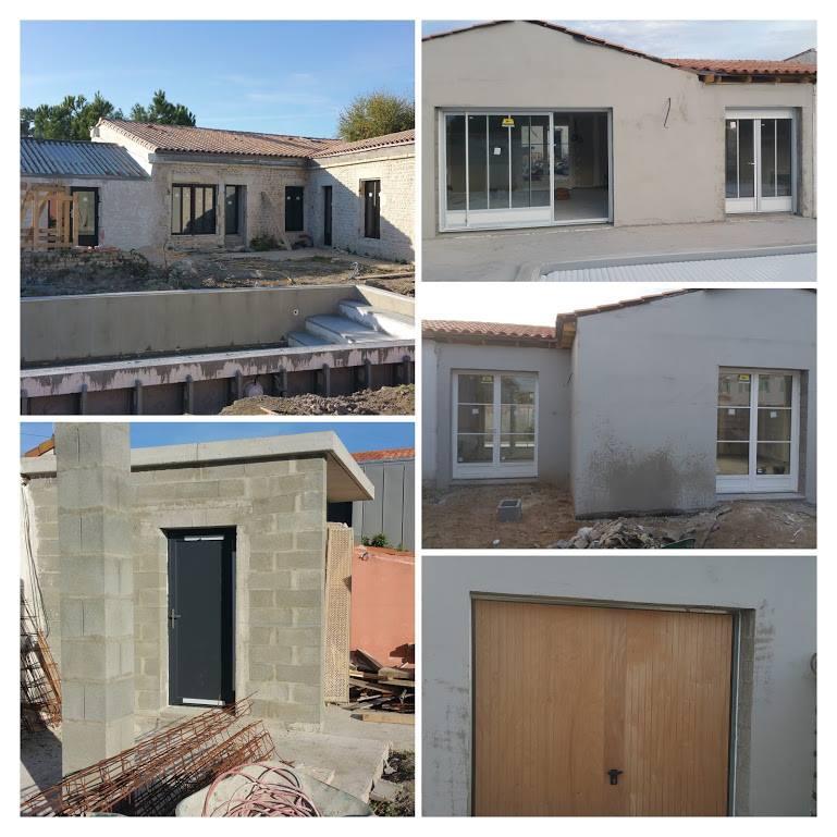 Fenêtres, portes, garage, portail